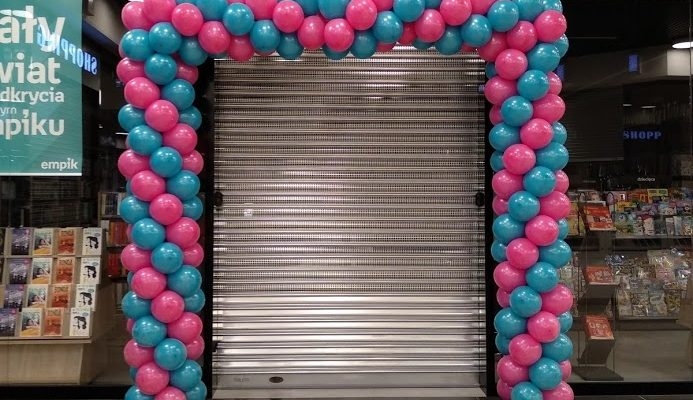 brama balonowa dla empiku